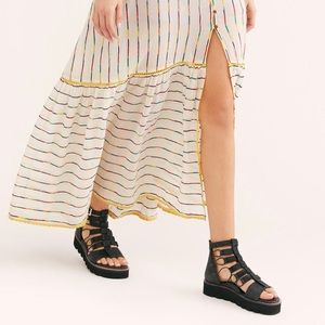 Free People Sunrise Flatform Sandals
